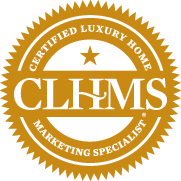 Seal denoting Certified Luxury Home Marketing Specialist