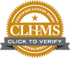 Example of Click to Verify CLHMS seal