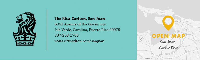 Ritz-Carlton, San Juan Location